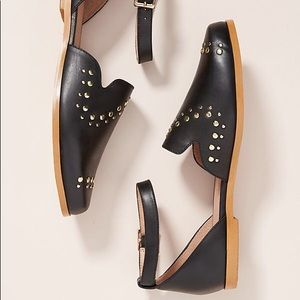 🌸🌼🌺 Anthropologie studded city flats 🌸🌼🌺